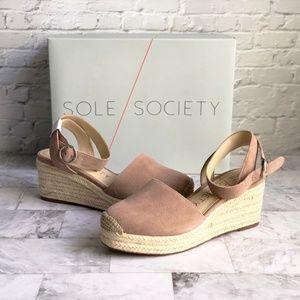 c0f2bdd82bb Sole Society Shoes | Iso Audrina Platform Espadrille | Poshmark